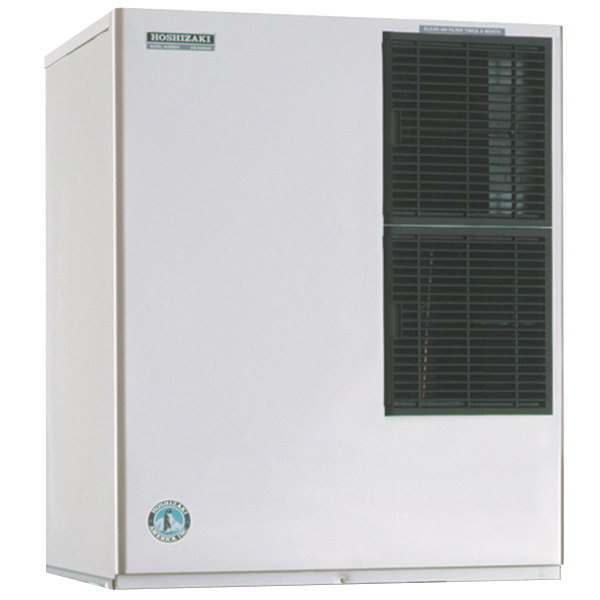 "Hoshizaki KM-901MAH Modular 30"" Air Cooled Crescent Cube Ice Machine - 874 lb."