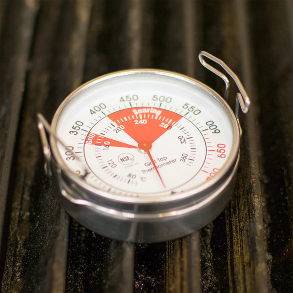 "2"" Dial Grill Thermometer - NSF"