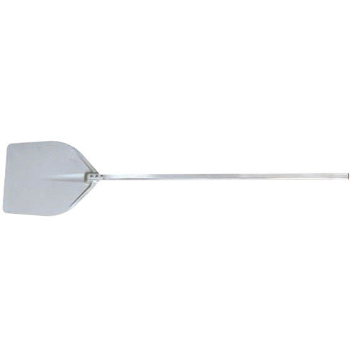 "American Metalcraft ITP1738 17 1/2"" x 18 1/2"" Deluxe All Aluminum Pizza Peel with 41"" Handle"
