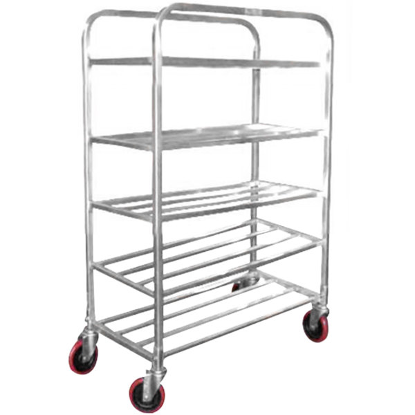 Winholt UNAL-5-WEG Five Shelf Narrow Universal Cart