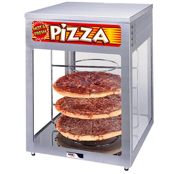 Pizza warmer rack