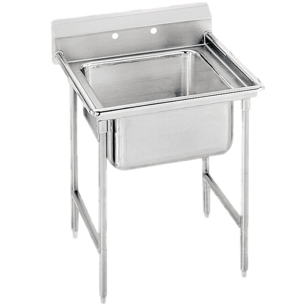Advance Tabco 9-61-18 Super Saver One Compartment Pot Sink - 27""