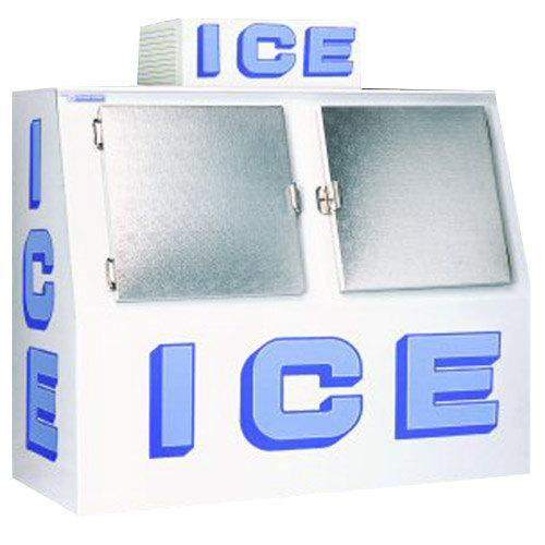 Polar Temp 600cw Outdoor Ice Merchandiser 60 Cubic Feet