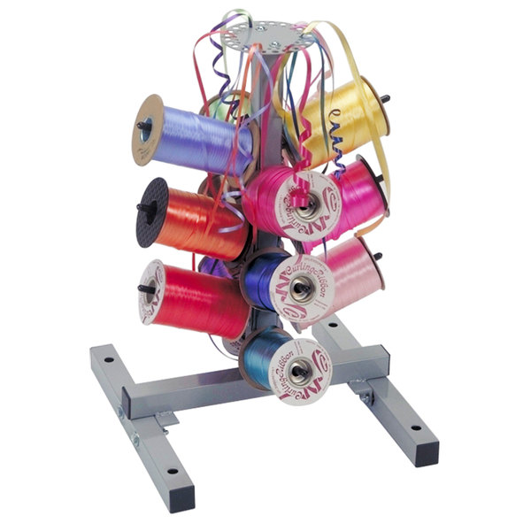 Bulman M712 12 Spool Ribbon Dispenser for Curling Ribbon