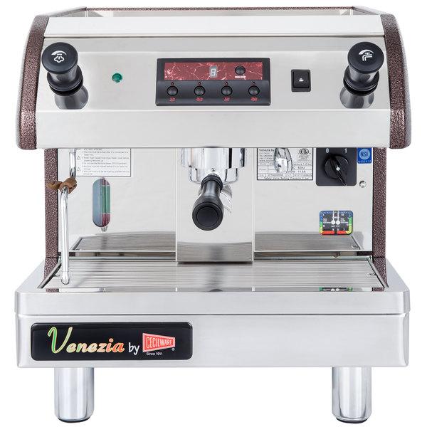cecilware esp1220v venezia ii one group espresso machine 240v - Commercial Espresso Machine