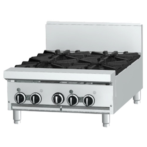 "Garland GF24-4T 4 Burner Modular Top 24"" Gas Range with Flame Failure Protection - 104,000 BTU"