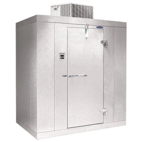 "Nor-Lake KLB74814-C Kold Locker 8' x 14' x 7' 4"" Indoor Walk-In Cooler without Floor"