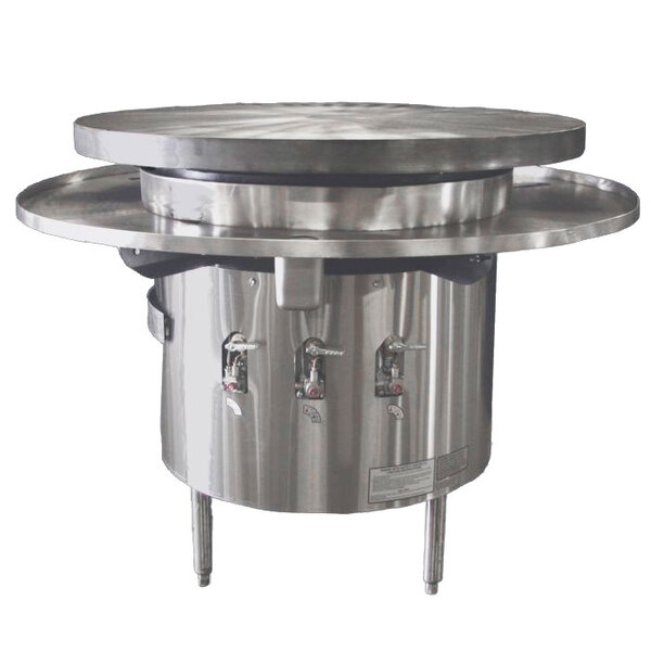 "Town MBR-48 48"" Flat Top Mongolian Barbeque Range"