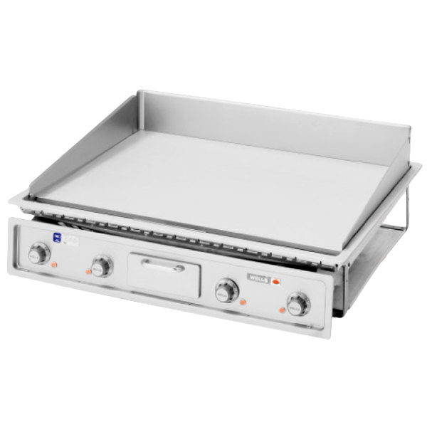 "Wells G-236 36"" Drop-In Countertop Electric Griddle - 16000W"
