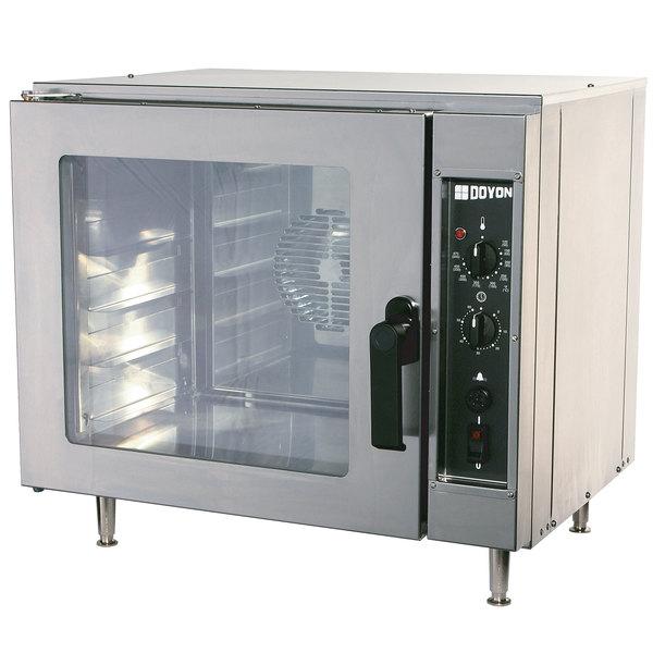 doyon nco5 half size countertop electric convection oven 208v 4 kw
