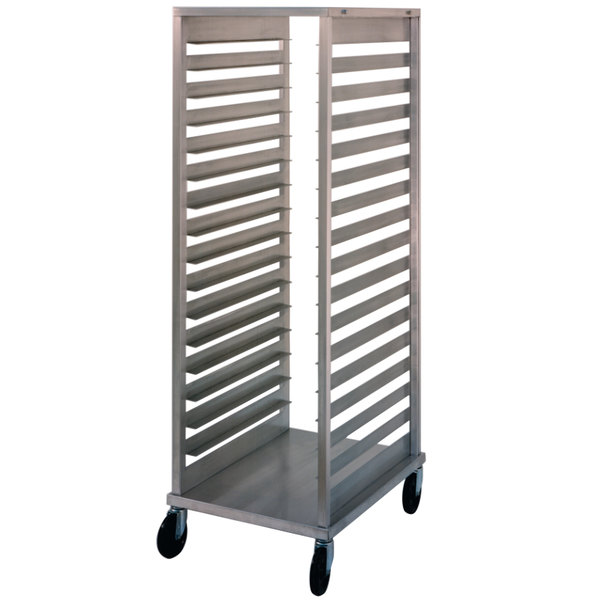 NU-VU SB-2 17 Pan End Load Bun / Sheet Pan Rack - Assembled