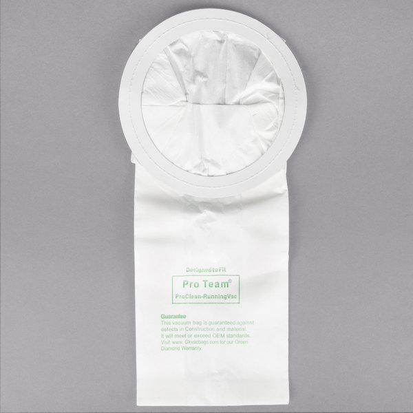 vacuum bag for proteam 10 qt canister vacuums 10pack - Canister Vacuums