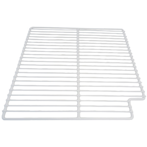 "True 909426 White Coated Wire Shelf - 15 9/16"" x 16"""