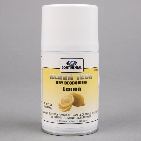 Continental 1186 Lemon Aerosol Air Freshener Refill