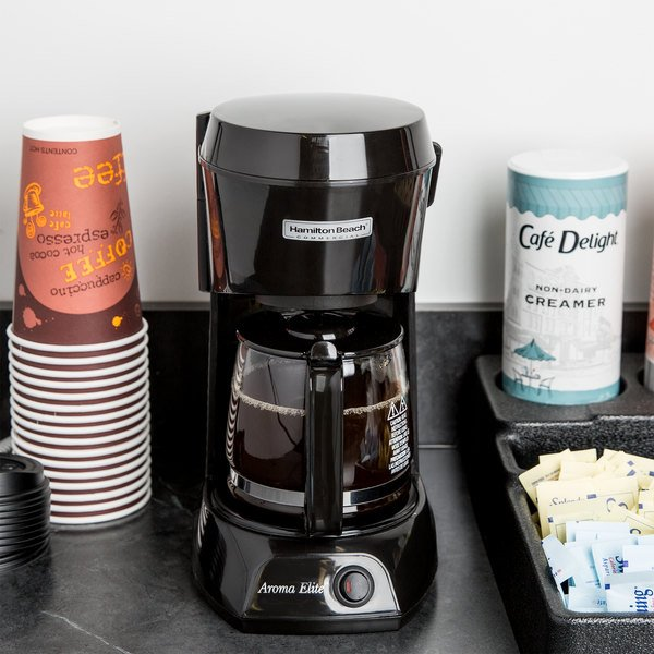European Glass Coffee Maker : European Glass Carafe.Hamilton Beach HDC500C 4 Cup Coffee Maker With Auto Shut . Hamilton Beach ...