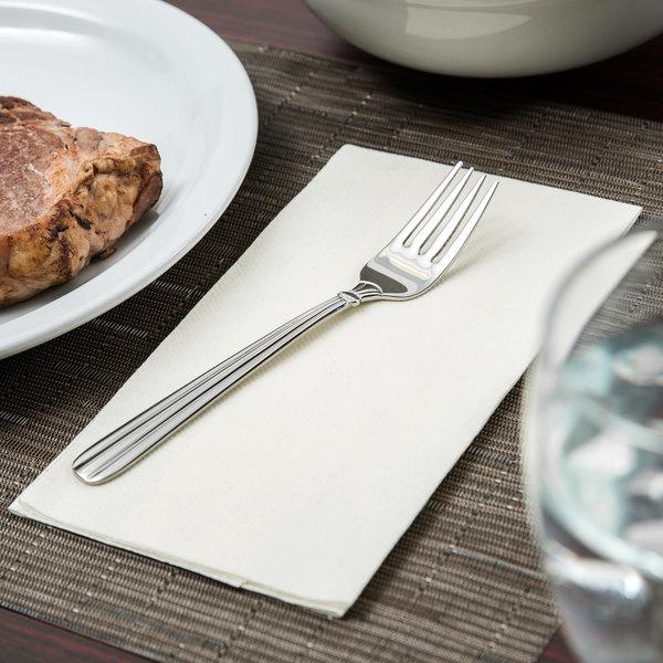 oneida 2347fslf unity stainless steel flatware salad pastry fork 36box - Stainless Steel Flatware