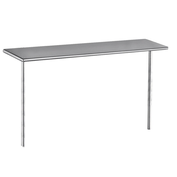 "Advance Tabco PT-18-36 Smart Fabrication 18"" x 36"" Middle Mount Stainless Steel Shelf"