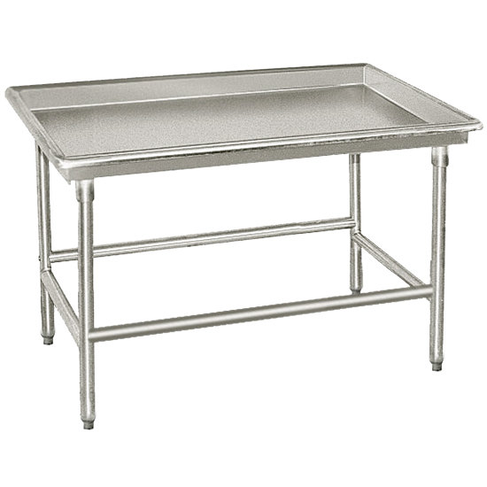 "Advance Tabco SR-96 30"" x 96"" Stainless Steel Sorting Table"