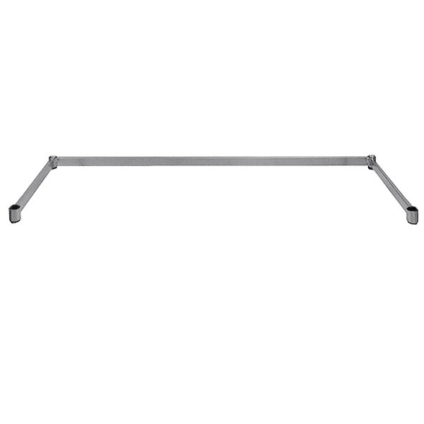 "Advance Tabco SF-1836 Three-Sided Chrome Wire Shelving Frame 18"" x 36"""