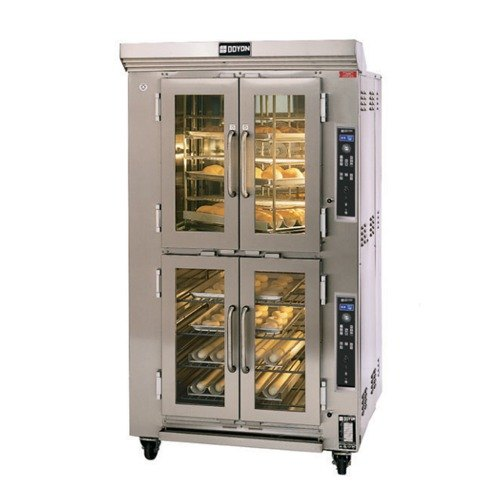 Doyon CAOP6 Double Deck Circle Air Electric Oven Proofer Combo with Rotating Racks - 16.5 kW