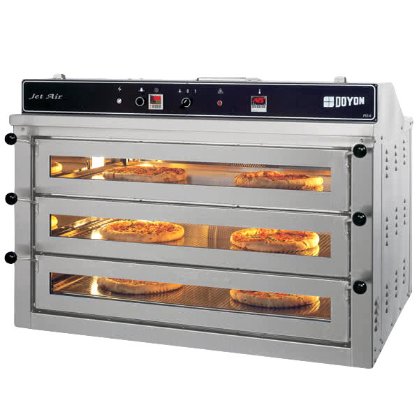 Electric Pizza Oven ~ Doyon piz triple deck electric pizza oven v kw