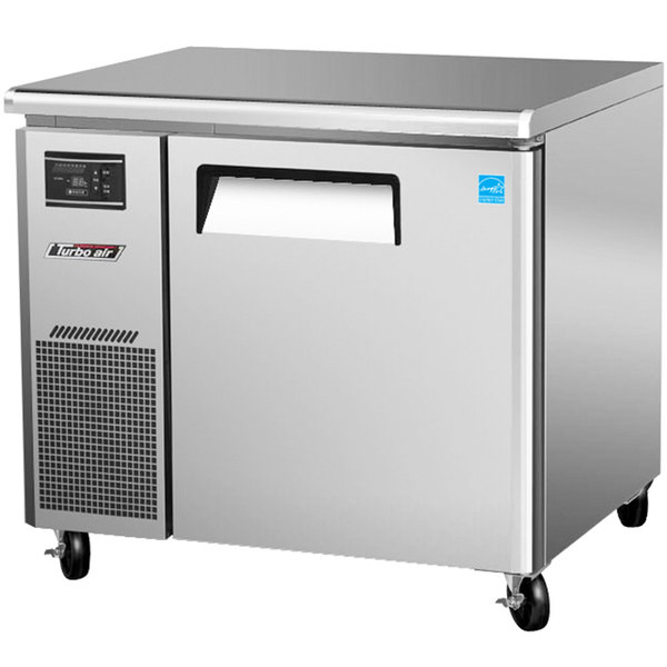 "Turbo Air JUR-36 J Series 36"" Undercounter Refrigerator with Side Mounted Compressor - 7 Cu. Ft."