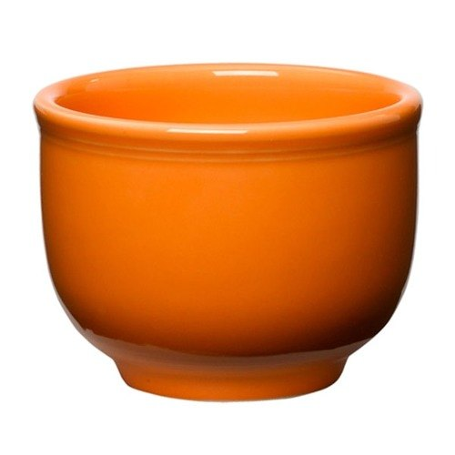 Homer Laughlin 098325 Fiesta Tangerine 18 oz. Jumbo Bowl - 12 / Case