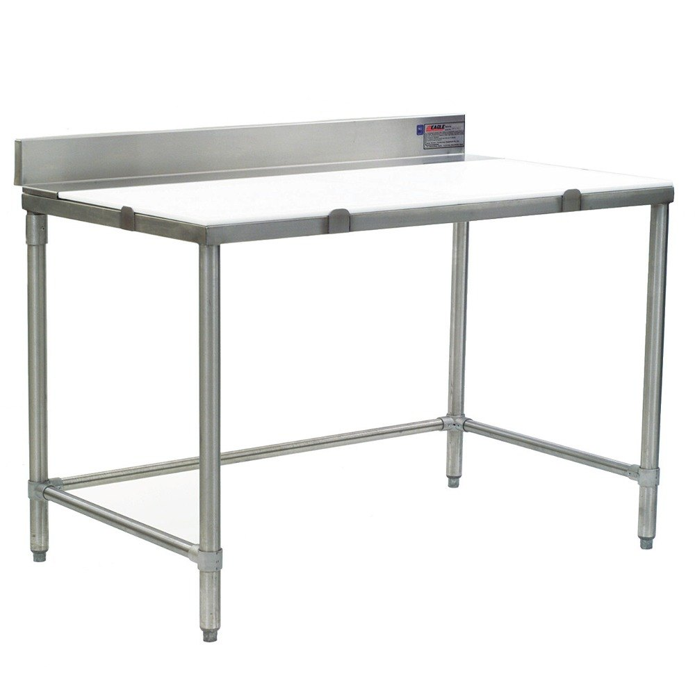 Eagle Group Bt3660s 36 Quot X 60 Quot Poly Top Stainless Steel