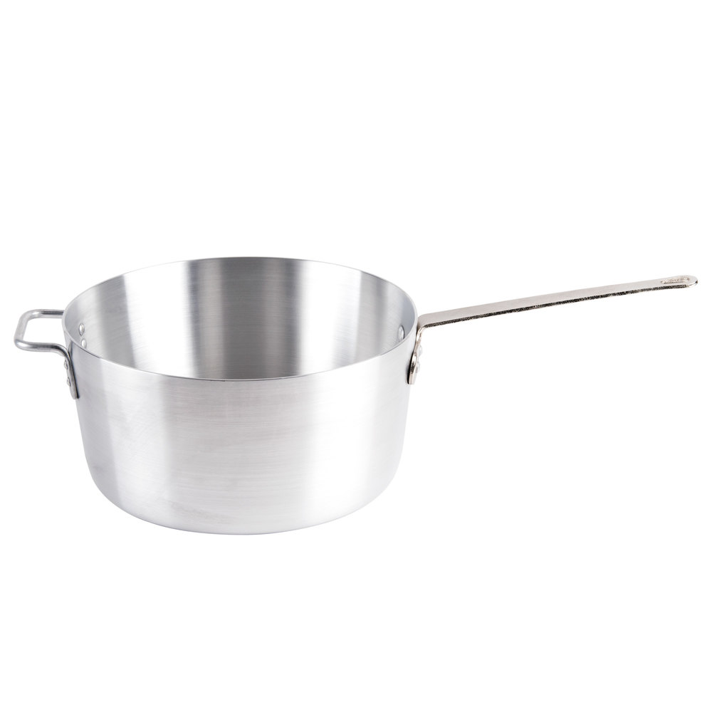 10 Qt. Tapered Aluminum Sauce Pan