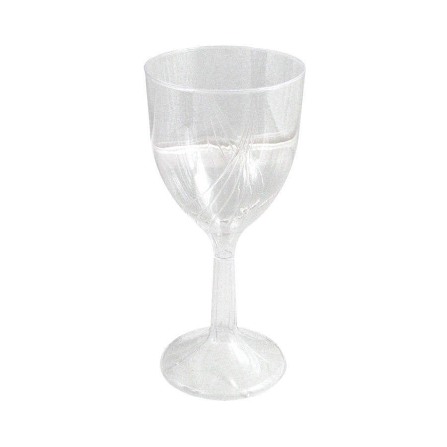 WNA Comet CWSWN6 6 oz. Clear Plastic Classicware Wine Glass 10 / Pack