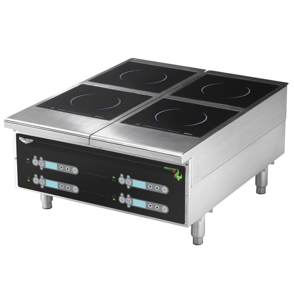 Vollrath 924HIDC Cayenne Heavy Duty Dual Induction Hot Plate with Digital Controls - 208/240V, 5800W at Sears.com