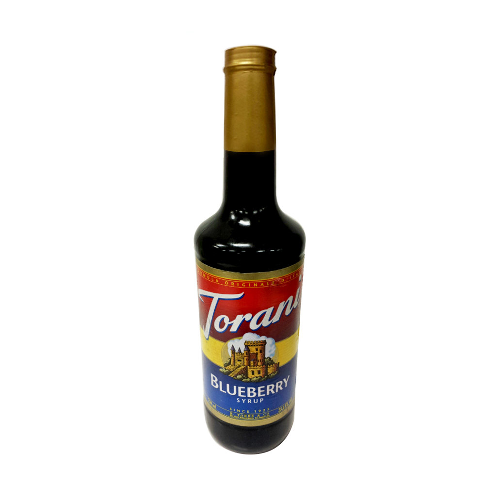Torani 750 mL Blueberry Flavoring Syrup