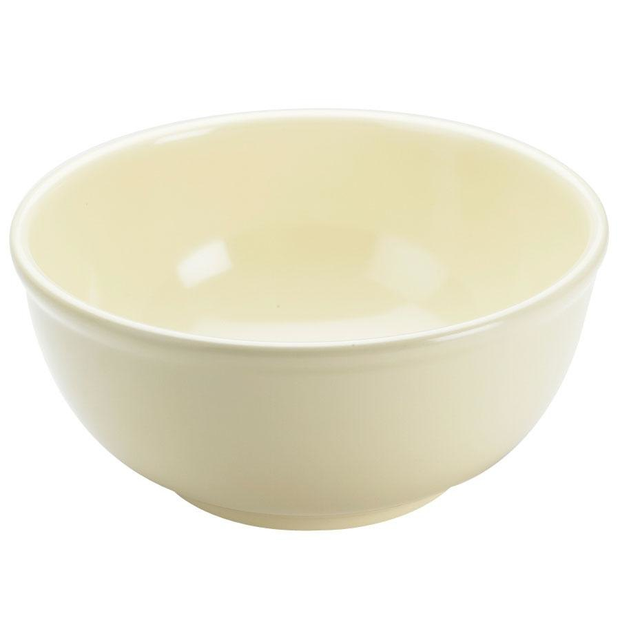 Cal Mil 418-10-61 Mission 10 inch Round Melamine Bowl - Butter Yellow