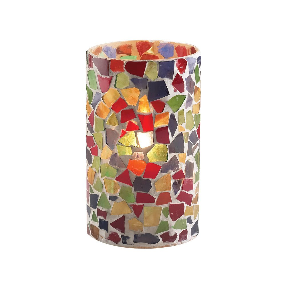 Sterno Products 80204 5 Quot Multicolor Mosaic Candle Liquid