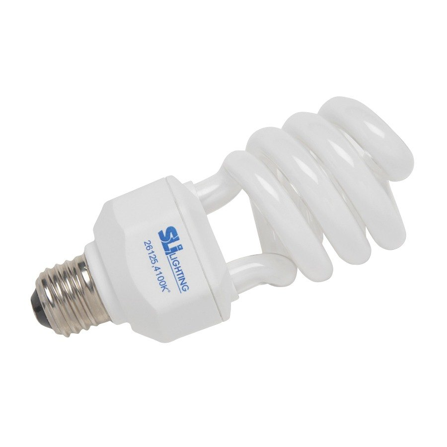 Sli Lighting Mini Lynx 15 Watt 60 Watt Equivalent Compact Fluorescent Energy Saving Light Bulb