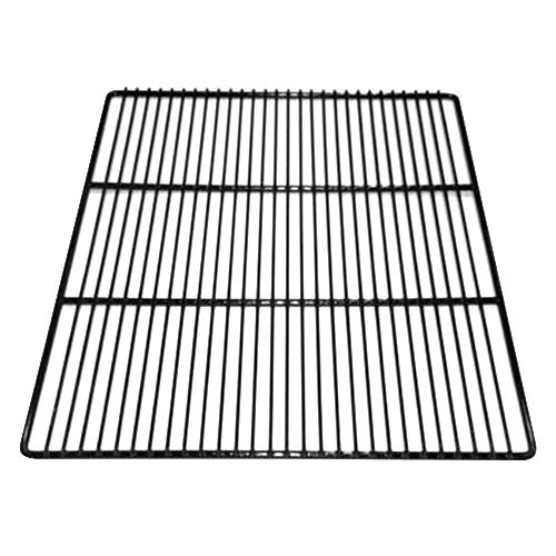 "True 918765 Black Coated Wire Shelf - 23 1/4"" x 19"""