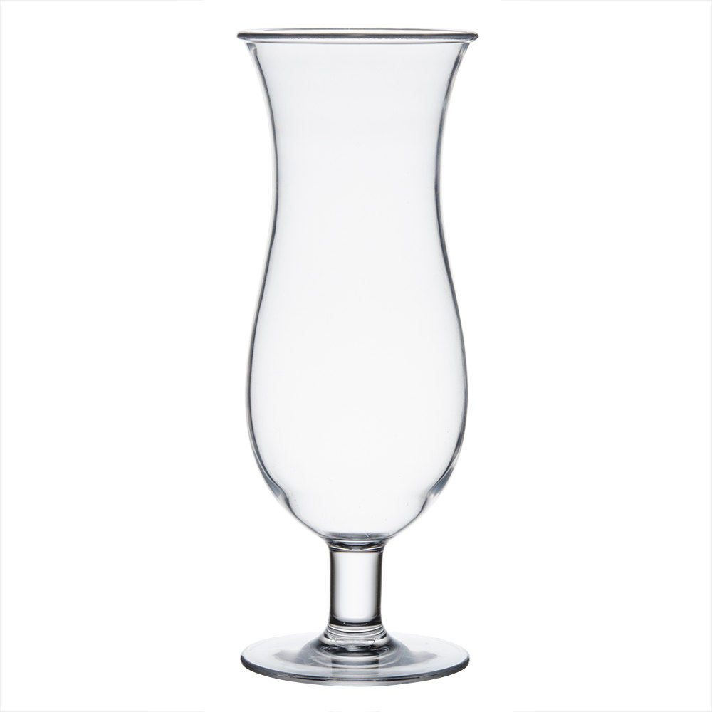 16 oz. Polycarbonate Hurricane Glass