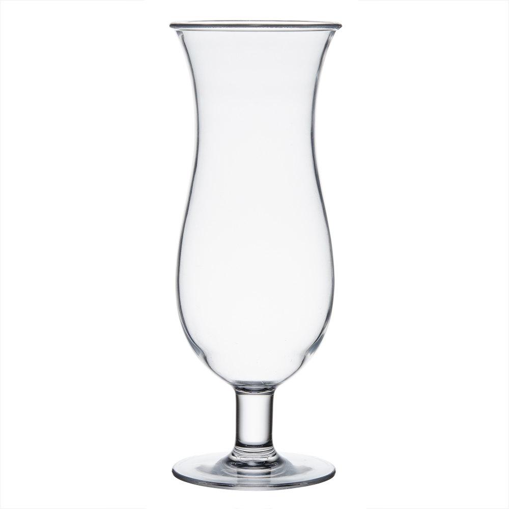 16 oz. Polycarbonate Hurricane Glass