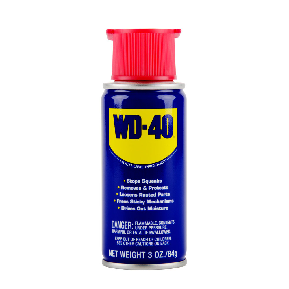 WD-40 3 oz. Handy Can Spray Lubricant - 12 / Pack