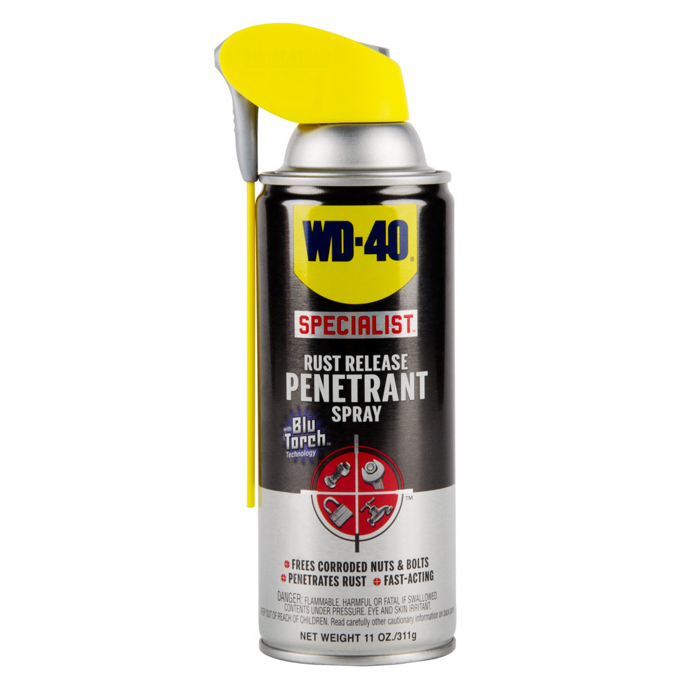 wd 40 specialist 11 oz rust release penetrant spray with smart straw 6 case. Black Bedroom Furniture Sets. Home Design Ideas