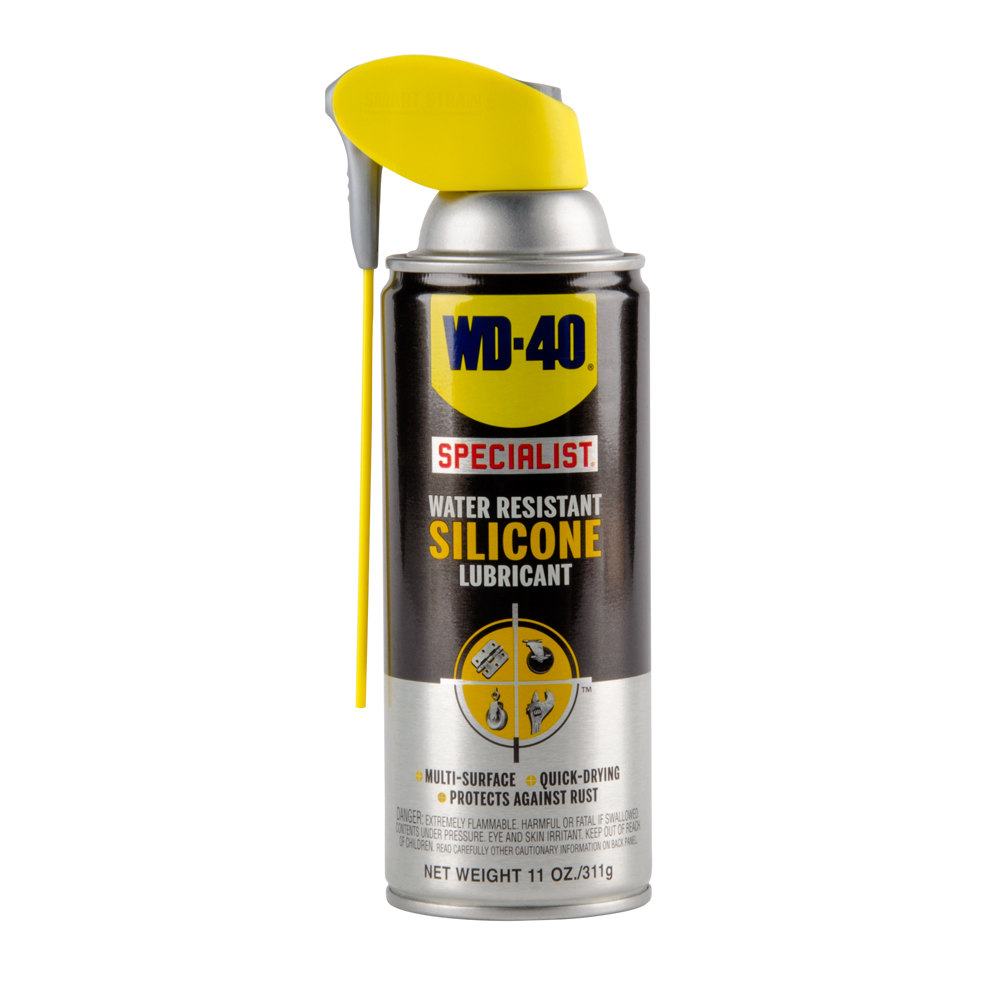 wd 40 specialist 11 oz water resistant silicone lubricant spray with smart straw 6 case. Black Bedroom Furniture Sets. Home Design Ideas