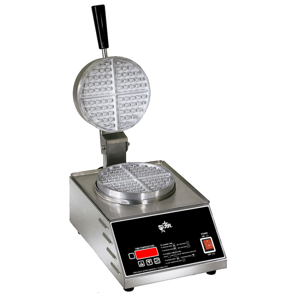 "Star 230 Volts (International) Star SWB7R1E Round Waffle Iron 7"" at Sears.com"