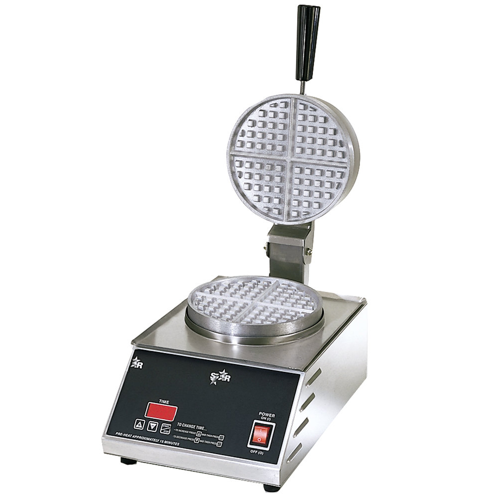 "Star 230 Volts (International) Star SWB7R2E-CSA Double Round Waffle Iron 7"" (Canadian Use) at Sears.com"