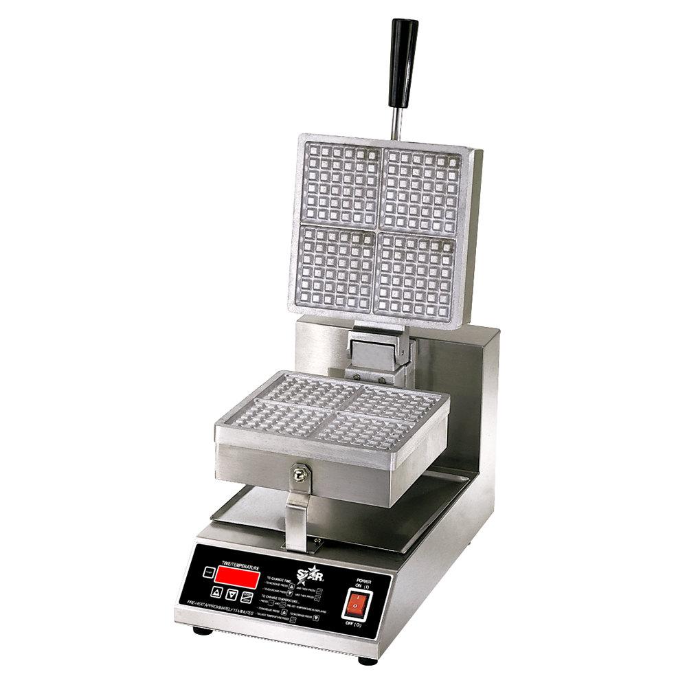 "Star 230 Volts (International) Star SWB8SQE-CSA 8"" Square Waffle Iron (Canadian Use) at Sears.com"