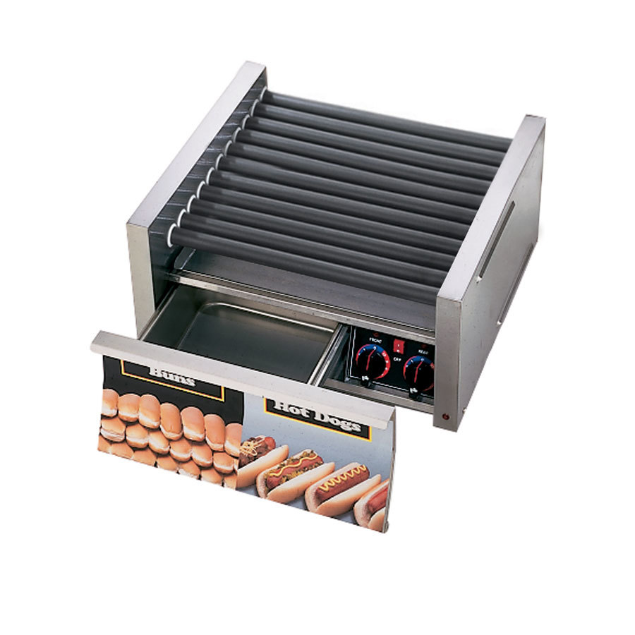 Star 230 Volts (International) Star Grill Max 50SCBD-CSA 50 Hot Dog Roller Grill with Duratec Non-Stick Rollers and Bun Drawer (Canad at Sears.com