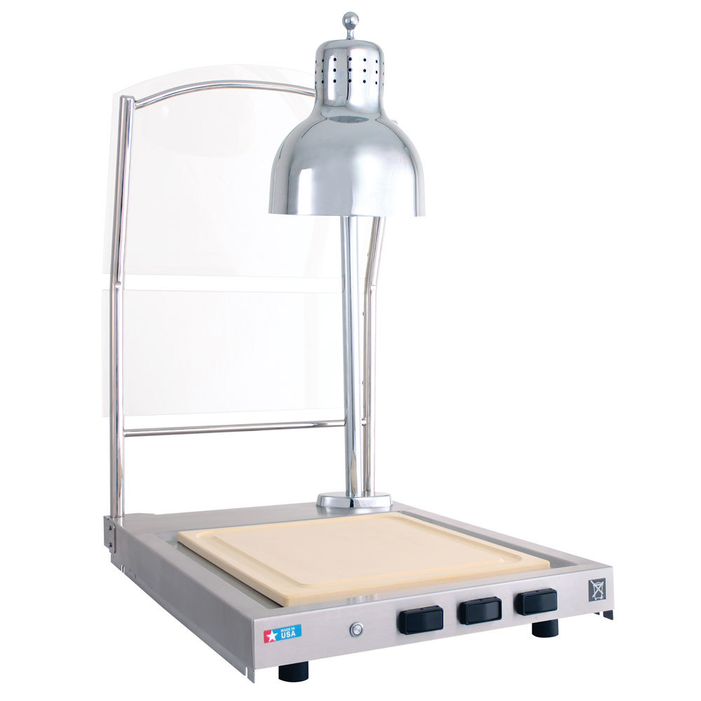 Alto shaam cs s heated single lamp carving station with