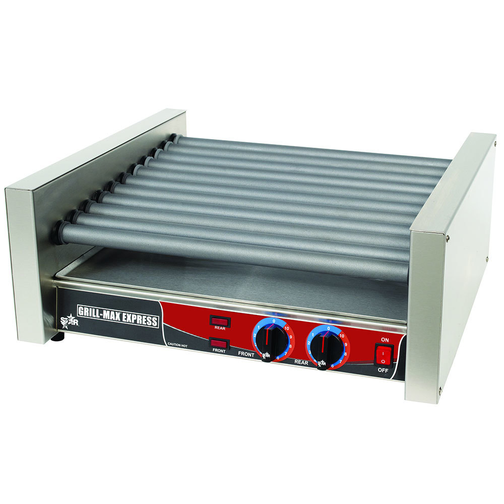Star 230 Volts (International) Star Grill Max Express X45F 45 Hot Dog Roller Grill with Chrome Plated Rollers at Sears.com