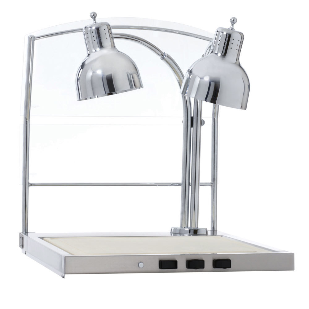 Alto shaam cs s heated dual lamp carving station with