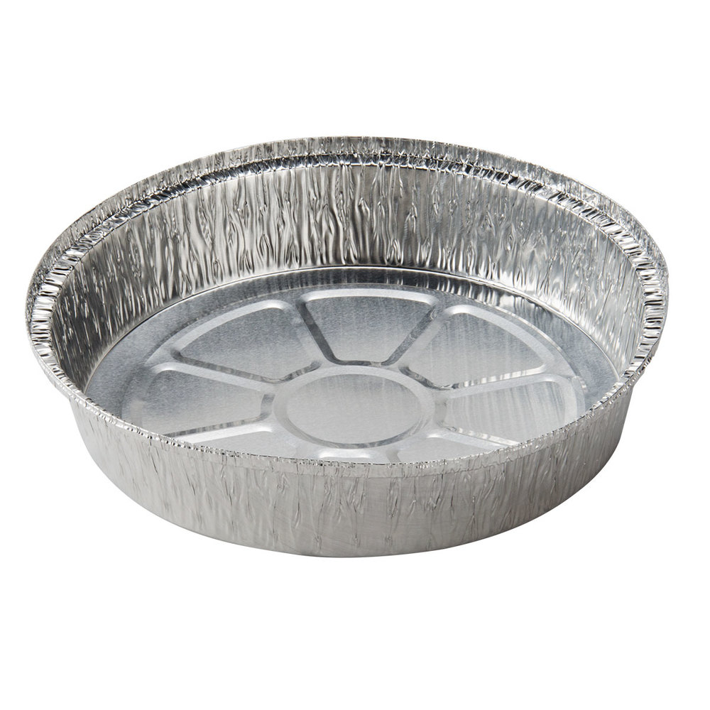 9 Quot Round Foil Take Out Pan Standard Weight 500 Case