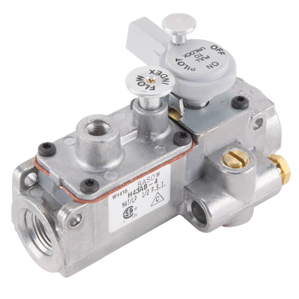 """Manifold Gas Valve; Natural Gas / Liquid Propane; 3/8"""" Gas ..."""